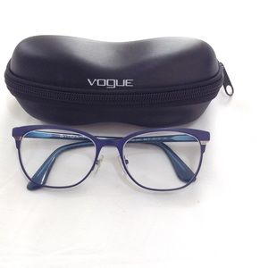 VOGUE VO3963 MATTE BRUSHED BLUE EYEGLASSES
